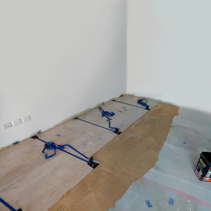 Floor Installation Belt Clamp