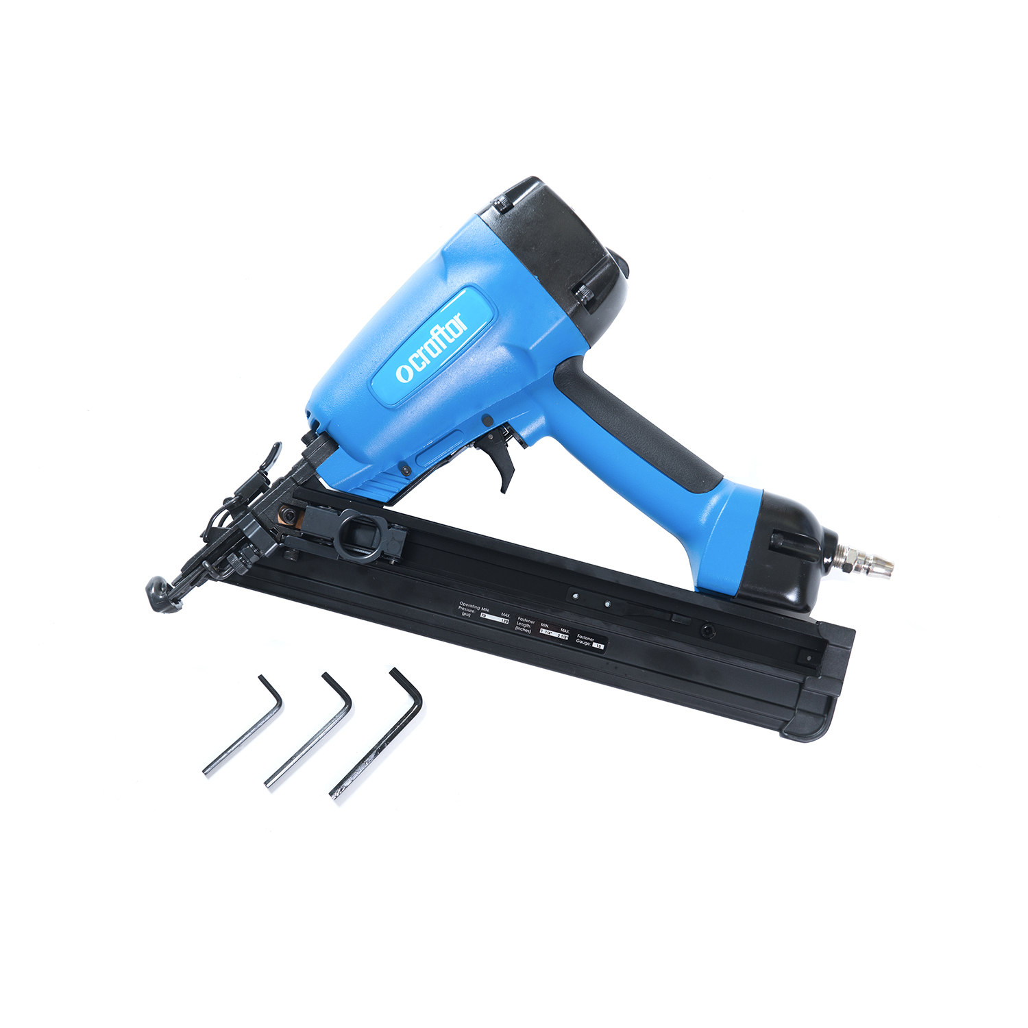 34° Angle Finish Nailer DA64