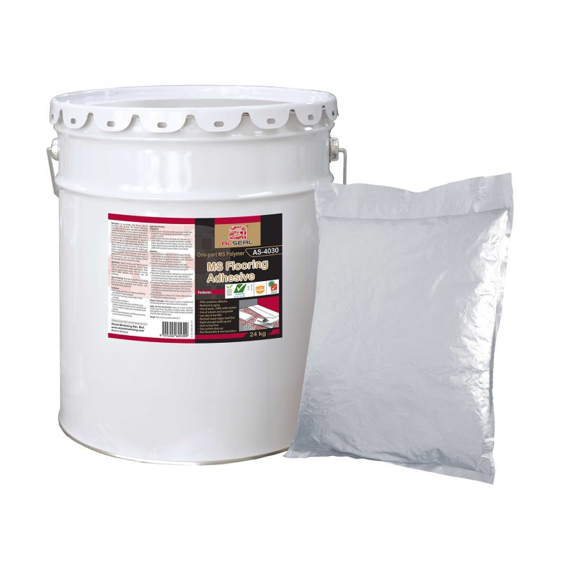 Flooring Adhesive MS Polymer ALSEAL AS-4030