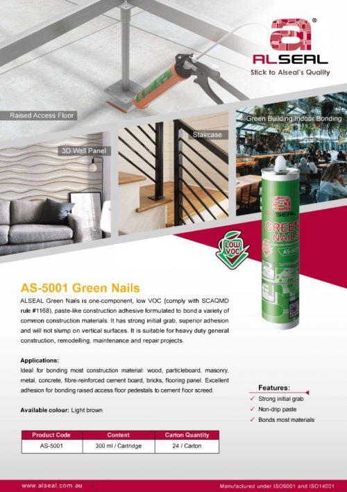 Green Nails AS-5001